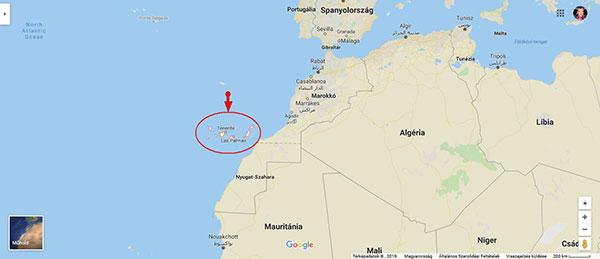 Hol van a Kanári-szigetek?