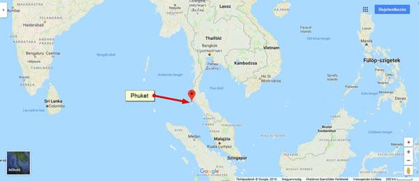 Hol van Thaiföld? Tui-Utazás