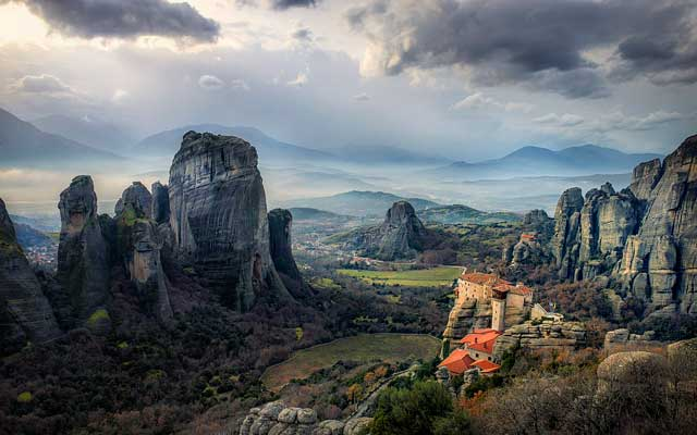 Thesszália és Közép-Görögország